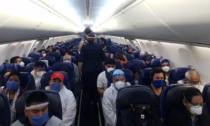 Más de 300 repatriados por un acuerdo entre México, Chile, Ecuador, Perú y Ecuador